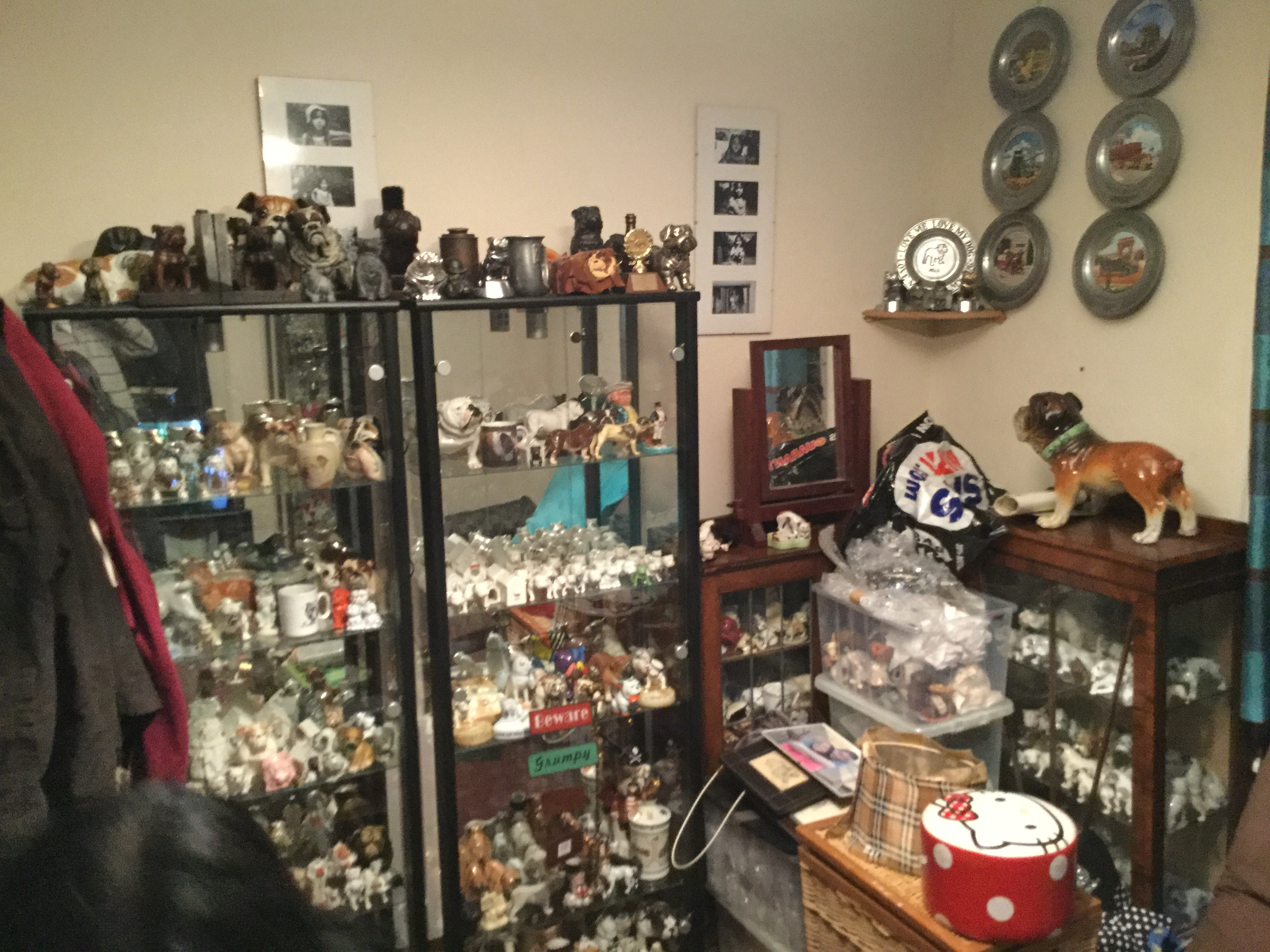 Moving collection Displays